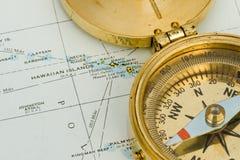 Compas antique Image libre de droits