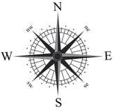 Compas aumentou Imagens de Stock Royalty Free