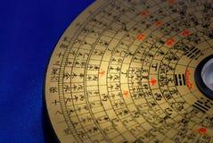 Compas chinois de Feng Shui Photographie stock libre de droits
