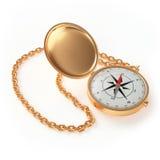 Compas d'or Image libre de droits