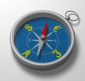 compas 3d Image libre de droits