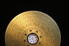 Compas de Feng Shui Photographie stock libre de droits