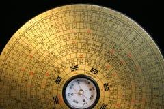 Compas de Feng Shui Photo libre de droits