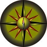 Compas en couleurs Photos libres de droits