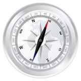 Compas en métal Photo libre de droits