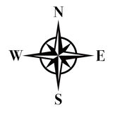 Compas/ENV Photographie stock libre de droits