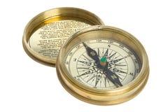 Compas et cache photographie stock