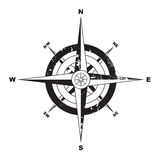 Compas grunge Photos libres de droits