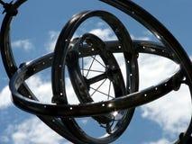 Compas gyroscopique lunatique photos libres de droits