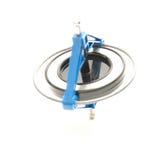 Compas gyroscopique (Salut-clé) Photo stock