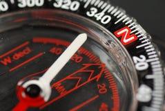 Compas magnétique Photographie stock