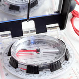 Compas moderne Photo libre de droits