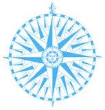 Compas nam toe Royalty-vrije Stock Fotografie