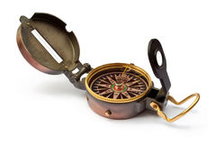 compas odizolowywający Obrazy Stock