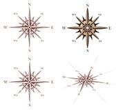 Compas rose de vent de cru Image stock