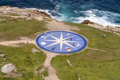 Compas steg Royaltyfri Bild