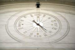 Compas vägg Royaltyfri Fotografi