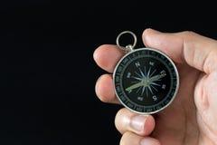 compass рука стоковая фотография