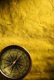 compass старая страница Стоковая Фотография