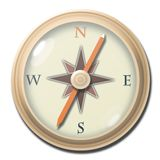 Compass 1 royalty free stock photo