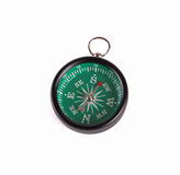 Compass. Isolated on white background Stock Photography