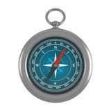 Compass. On a white vector background Stock Photography