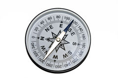 COMPASS. Isolated detailed compass on white background Royalty Free Stock Photo