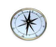 Compass. 3d rendering af a compass Royalty Free Stock Image