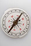 Compass. White paper compass on white Stock Images