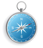 Compass. Icon over white background royalty free illustration