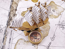 Free Compass Royalty Free Stock Photos - 18293698