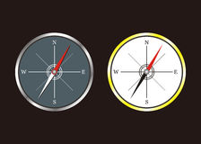 Compass. Tools for model design beautiful compass Royalty Free Stock Photography