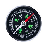Compass. On a white background Stock Photography