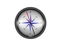 Compass. Shiny compass isolated on white background Stock Photo