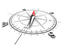 Compass. Isolated on white background Royalty Free Stock Photo
