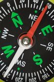 Compass. Close up shot for background stock image