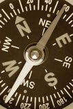 Compass. Close up shot for background royalty free stock photography