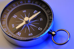 Compass. On a white background Stock Image
