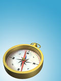Compass. Over gradient background, space for text. CG illustration Royalty Free Stock Photo
