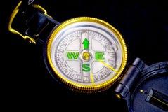 Compass. A shot of an engineering compass Stock Photos
