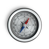 Compass. On a white background Royalty Free Stock Photo