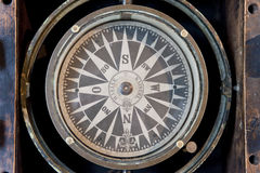 Compass. Instrument of a navigation system Royalty Free Stock Image