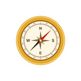 Compass antique retro style vector illustration Royalty Free Stock Photos