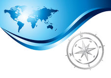 Compass background Royalty Free Stock Photo