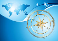 Compass background Royalty Free Stock Images