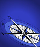 Compass Background. Abstract background with compass icon royalty free illustration