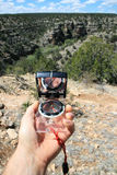 Compass bearing Royalty Free Stock Photos