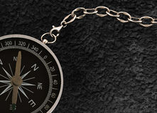 Compass with chain Royalty Free Stock Photos
