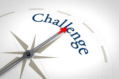 Compass Challenge Royalty Free Stock Image
