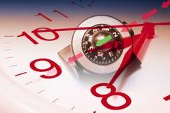 Compass and Clock Stock Photos